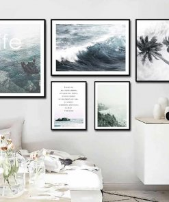 Life Near the Ocean Wall Art