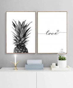 Pineapple Love Wall Art